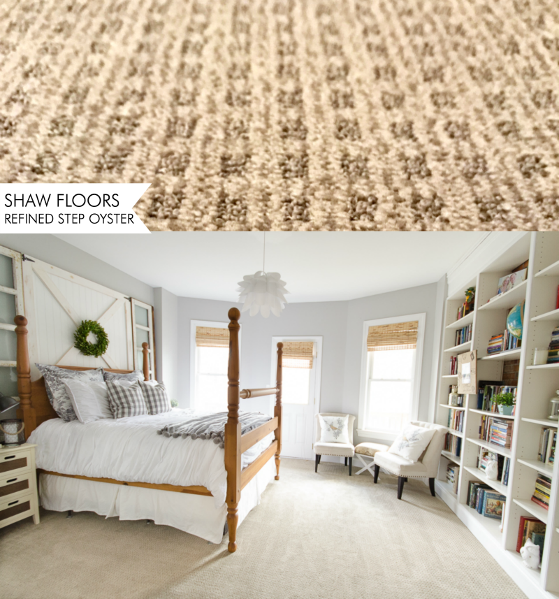 SHAW FLOORS Carpet Refined Step in Oyster