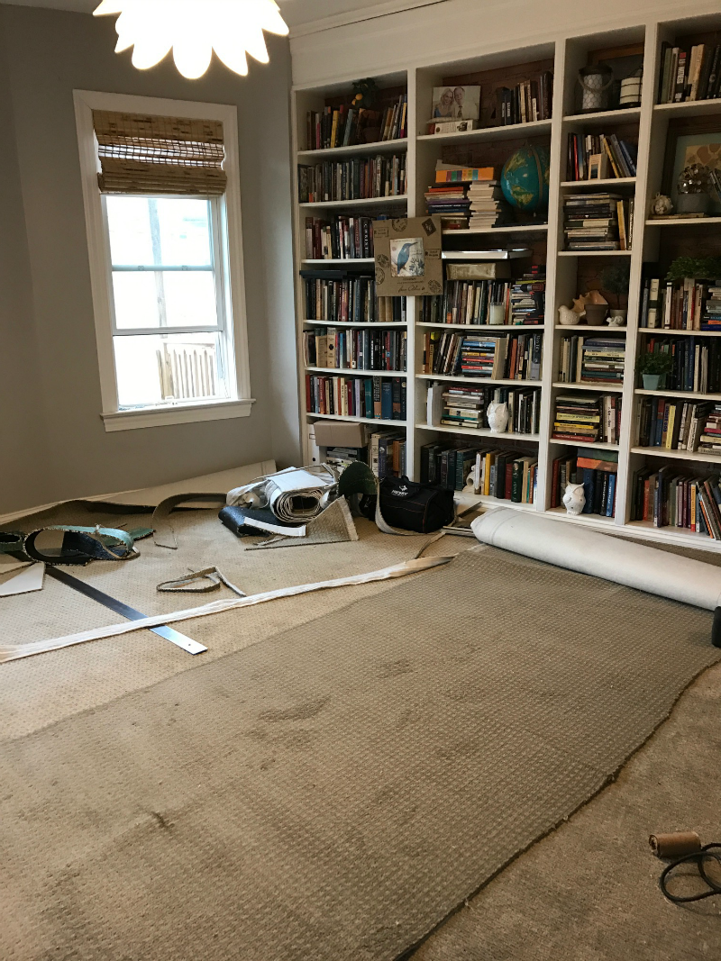 Shaw Carpet Install